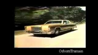 1975 Lincoln Continental Full Line commercial - Evolution of Modern Lincolns