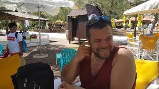 Нью Анхелос. Обзор пляжа. Греция. Пляжный отдых. Пляжи Греции. Νέα Αγχίαλος, Μαγνησίας. Greece.