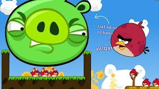 Angry Birds Cannon 3 - BLASH BAD PIGGIES HELP RED MEET GIRLFRIEND!