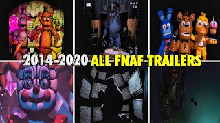 Todos Los Trailers De Five Nights At Freddy's ( FNAF All Trailers Compilation )  1 2 3 4 5 6 7 vr