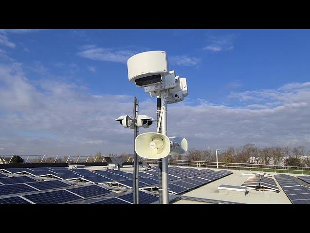 Sécurisation de toiture ? - Tests radars Axis D2110 VE et haut-parleurs Axis C1310 E (2/2)