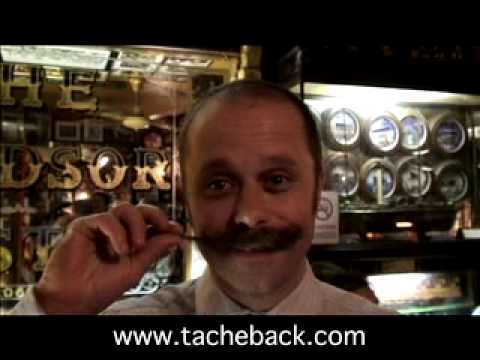 Grow a Tache. Raise Cash. TacheBack 2007.