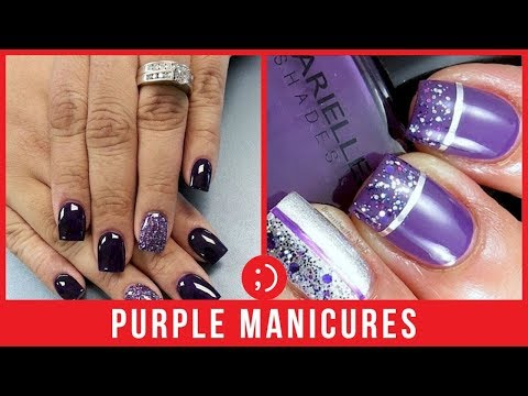 Purple Nails Compilation - Best New Nail Art Designs 2019