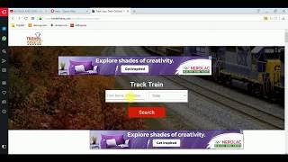 How To Track Train Location in Android Mobile  OR PC l ट्रेन कौन से स्टेशन पर है कैसे पता करें