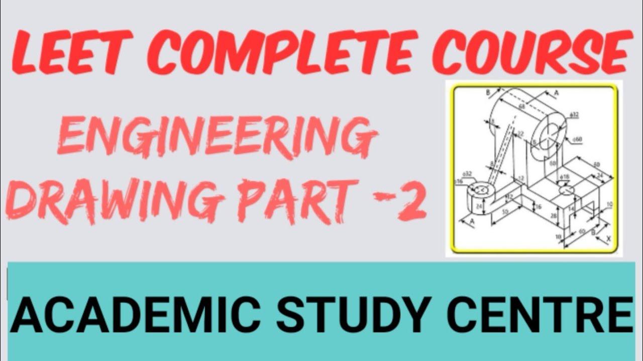 LEET ENGINEERING DRAWING Part-2 || LEET COMPLETE COURSE || LEET SYLLABUS 2020 ||