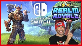 REALM ROYALE SWITCH (FR) Better than Fortnite?