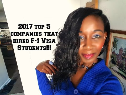 2017 Top 5 USA Companies That Hired Internationals!