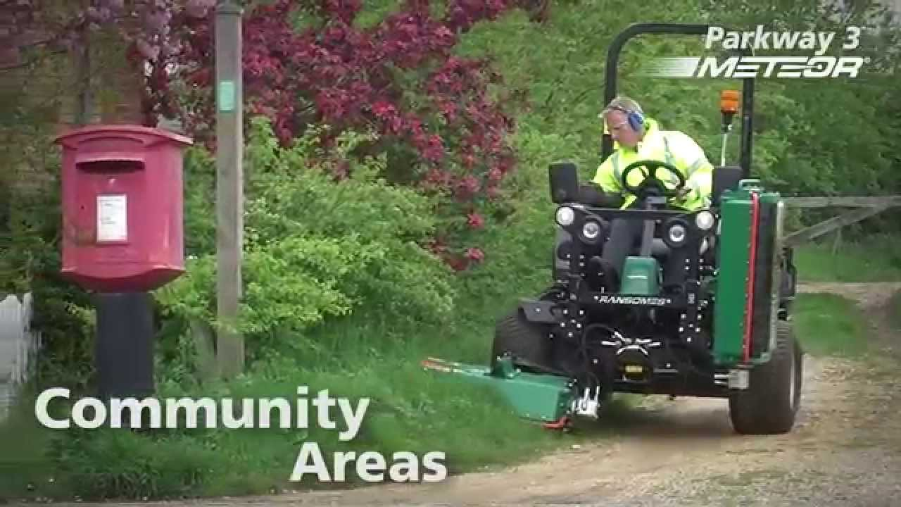 Ransomes Parkway 3 Meteor Flail Mower