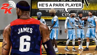 ALL LEGENDS COMP PRO AM TEAM CHALLENGED my LEBRON JAMES BUILD on NBA 2K20