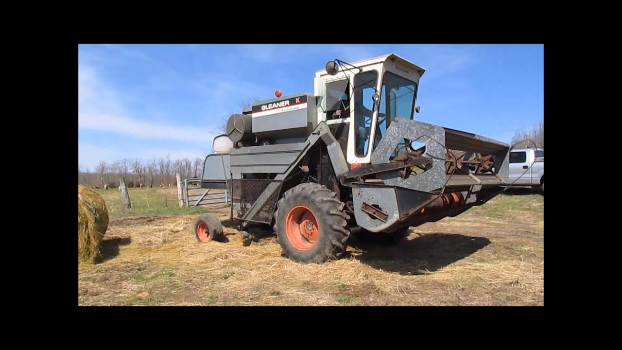 1976 allis chalmers gleaner k combine for sale sold at auction may rh youtube com Gleaner E Combine Gleaner Combine Salvage Yards