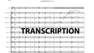Carolina Crown 2013 E=MC² Transcription