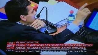 Potente Réplica del Fiscal Gajardo ante defensa de Délano y Lavín en Caso Penta [06-03-14]