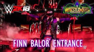 Wrestlemania 34: Finn Balor Entrance