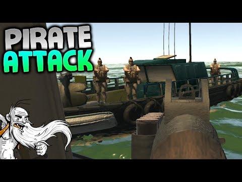 """Landless Gameplay - """"PIRATE ATTACK!!!""""  - Let's Play Walkthrough"""