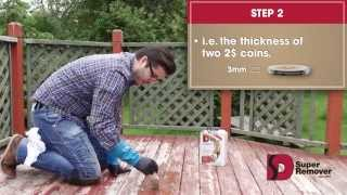 Super Remover: Instructions To Strip Treated Wood