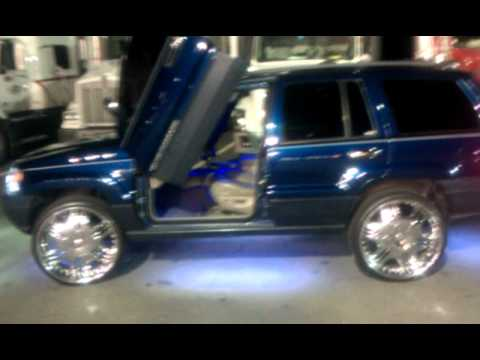 My Jeep On 24 S With Lambo Doors Youtube