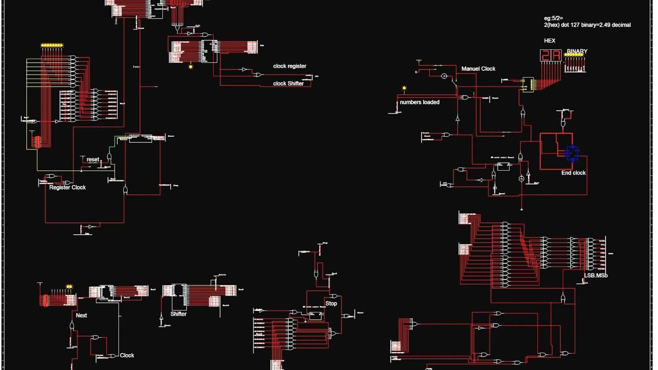 Binary Division Circuit
