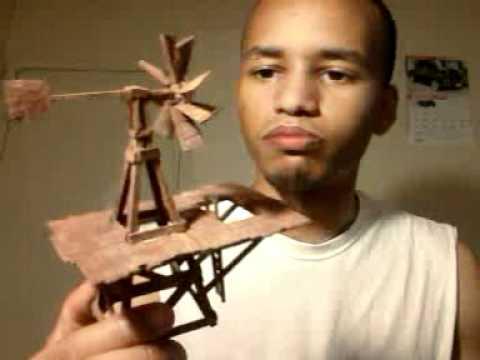 cratch built windmill