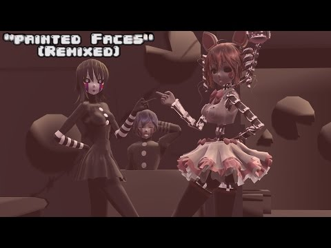 """MMD Five Nights At Meiko's - """"Painted Faces""""[Remixed] (Dance Mode)"""