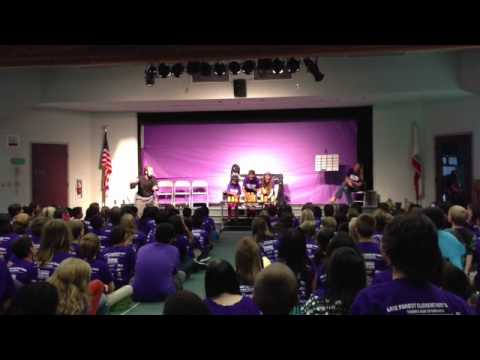 Anti-Bullying Assembly at Lake Forest Elementary