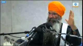 Bhai Ajit Singh ji, PMKC, Prabh Milne ka Chao, Sedgley street Wolverhampton Samagam,7th June 2014