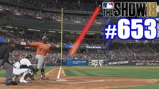 THIS BALL WENT A VERY LONG WAY! | MLB The Show 18 | Road to the Show #653