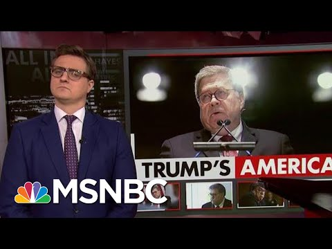 Chris Hayes On William Barr's 'Disgusting, Despicable View' | All In | MSNBC
