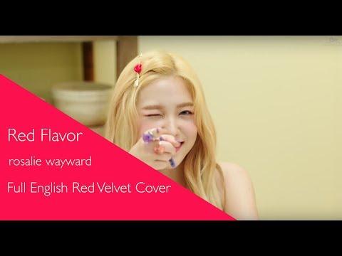 red-flavor-(빨간-맛)---full-english-red-velvet-cover【rosalie】