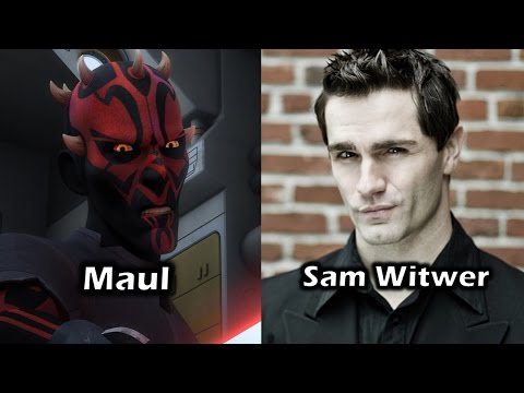 Characters and Voice Actors - Star Wars Rebels (Season 3)