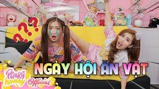 Thư Kỳ Đá Đầu Quỳnh Núi ( Pinky & Meena chơi thử thách )| PINKY HONEY]