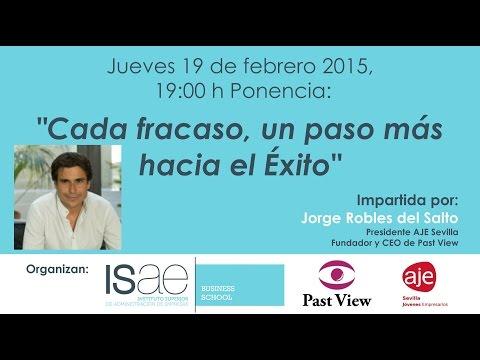 Ponencia Jorge Robles en ISAE