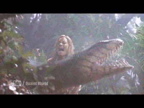 When KaDee Strickland Killed Anacondas By Cut The Neck | Anacondas (2004) Movie Scene