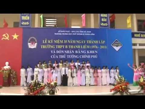 LỄ KỶ NIỆM 35 NĂM THÀNH LẬP TRƯỜNG THPT B THANH LIÊM   PHẦN 03