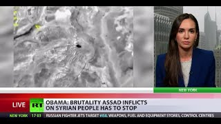 Syria blame-game: Obama slams Russian air strikes, says they strenghten ISIS