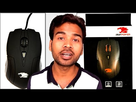 IBUYPOWER GAMING MOUSE REVIEW AND KEY FEATURES