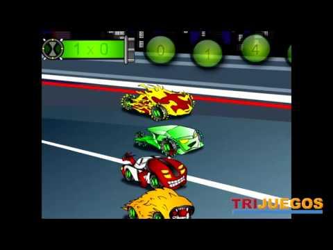 BEN 10 MATH RACE juego de matematicas