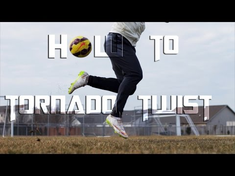 How to do Neymar Tornado Twist / Rainbow flick Variation | JPfootball