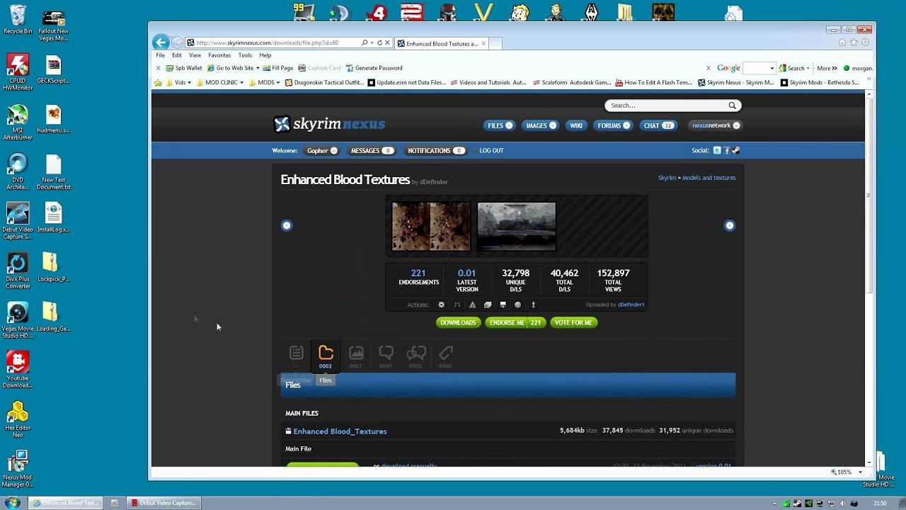 Skyrim Mod Sanctuary - Part 1 : Nexus Mod Manager