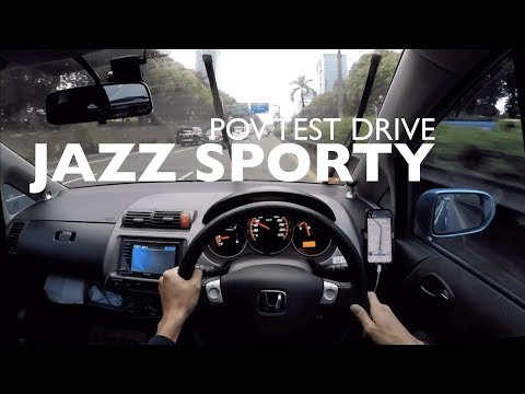 Jazz Sporty - POV Test Drive Jakarta Indonesia (Pure Driving, No Talking)