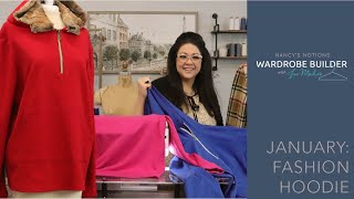 Wardrobe Builder January - How to Sew a Fashion Hoodie