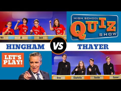 High School Quiz Show - Hingham vs. Thayer (904)
