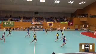 2019年IH ハンドボール 男子 3回戦  小松工業(石川)VS 神戸国際大学附(兵庫)