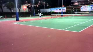 Jit's Tennis Game April 2014