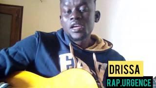Drissa Freestyle avec sa guitare (Rap Urgence)