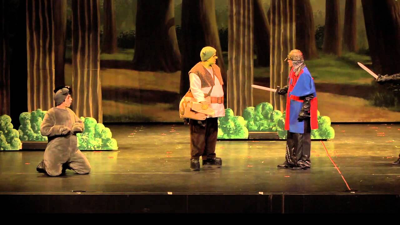 Shrek The Musical Act 1 Part 1 Youtube