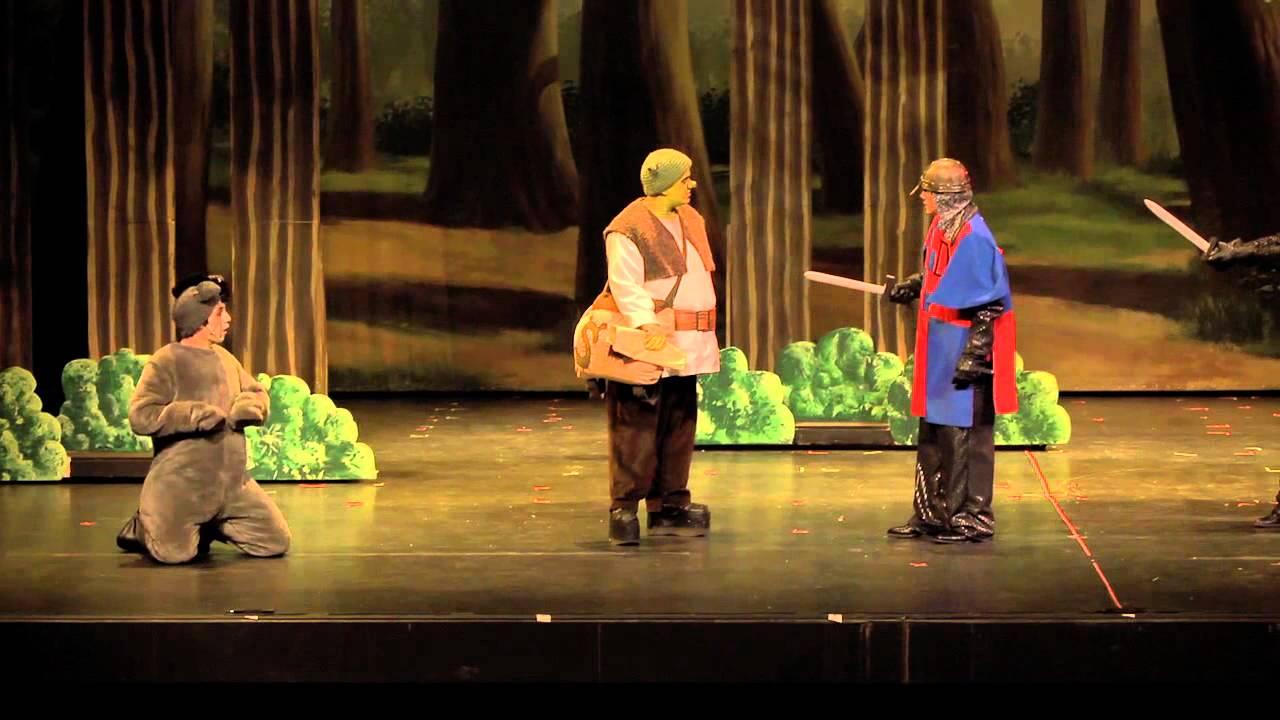 Shrek The Musical (Act 1 Part 1)
