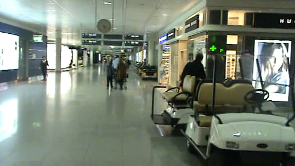 Munich airport terminal youtube
