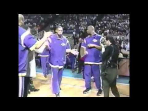 NBA on NBC Lakers VS Magic 1998 Intro