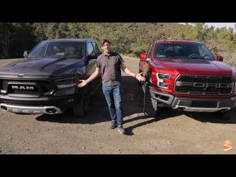 Off-Road Pickup Truck Comparison: 2019 Ram Rebel vs 2019 Ford Raptor