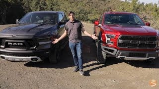 Off-Road Pickup Truck Comparison: 2019 Ram Rebel vs 2019 Ford Raptor